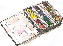 bijou watercolour box