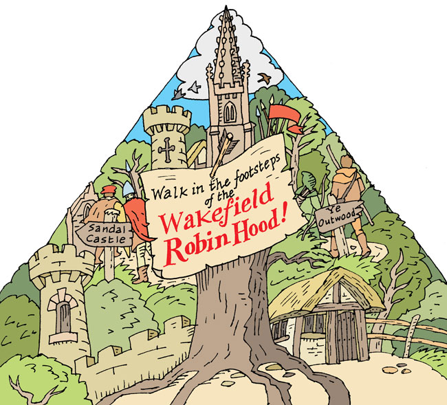 Walks in Robin Hood's Wakefield