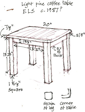 table sketch