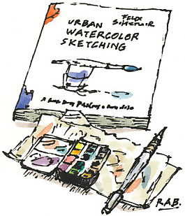 Scheinberger 'Urban Watercolor Sketching'