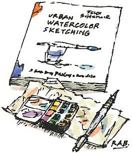 Scheinberger 'Urban Watercolor Sketching'