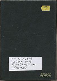 Daler sketchbook 1979