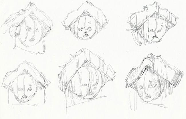 gargoyle sketches