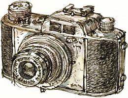 Akarette 35 mm camera