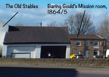 I'm sorry that I missed photographing the old stables a couple of weeks ago. They've gone now unfortunately.