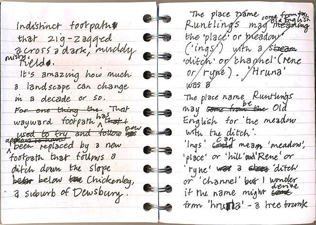Notes for my 'Walks around Ossett' booklet.