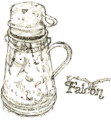 falcon jug
