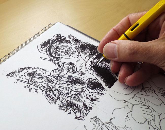 poachers, Lamy Safari pen