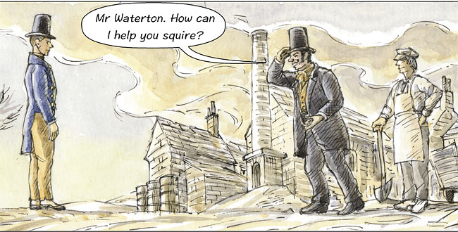 Waterton confronts Simpson