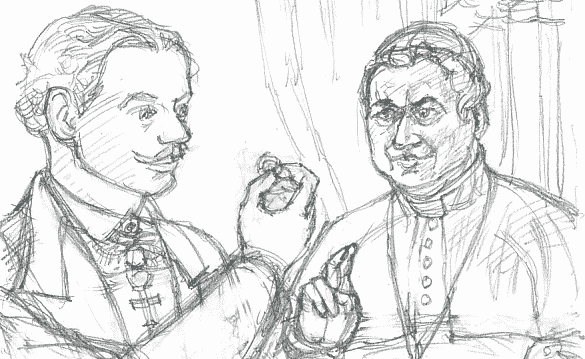 Pius and Edmund rough
