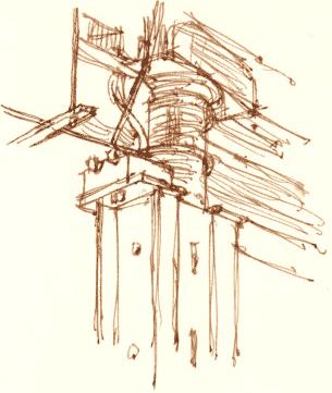 casbah pillar