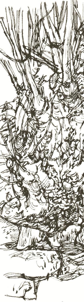ash in pen