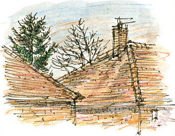 South Ossett roof.