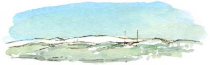 snow on the moors