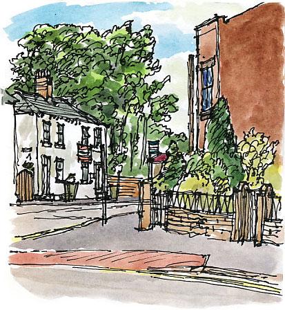 Westfield Road, Horbury, September 2008.