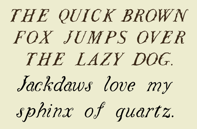 Cowslip typeface