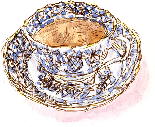 cupa and saucer