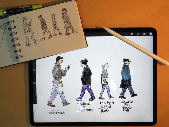 precinct ipad drawing