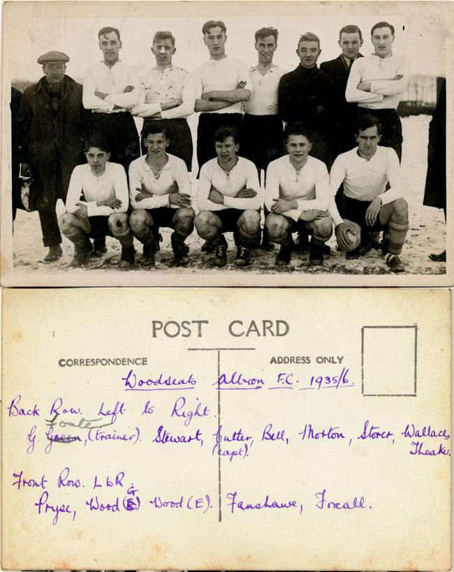 Woodseats Albion FC, 1935/36